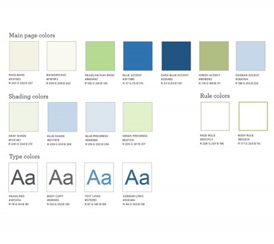 Style Guide: Color