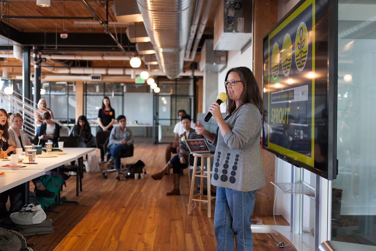 Design For Good: Sprout Breakout Nonprofit Pitches