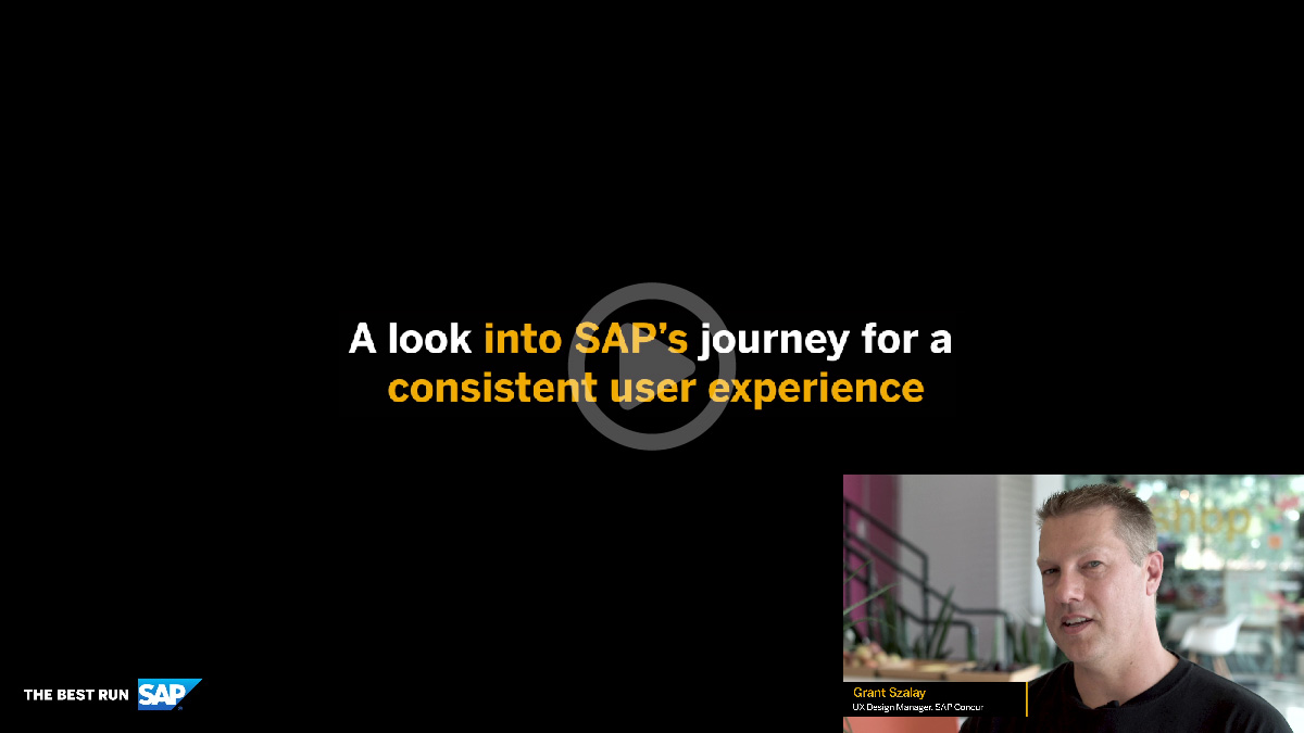 Journey for a Consistent User Experience Video